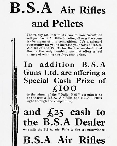 Fig 1 BSA Daily Mail prize shooting