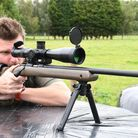 The M-Lok Magpul bipod was a great pairing for the Ruger
