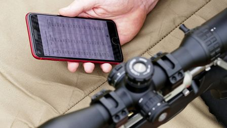 Strelok's built-in ballistic chart is a real godsend out in the field