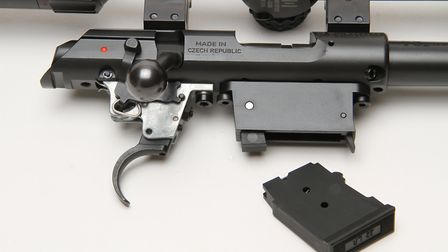 Excellent trigger mechanism with adjustment to suit your needs, I left well alone as factory setting