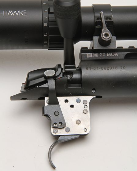I had Jewell, Trigger Tech and Timney triggers on standby but the Bergara Performance trigger was mo