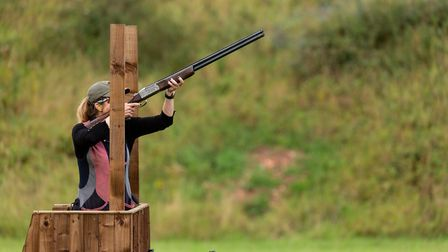 Hannah shoots a range of Sporting disciplines after changing her focus from Skeet
