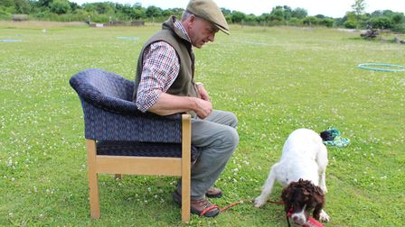 A Special Retrieving Chair can be helpful with reluctant retrievers