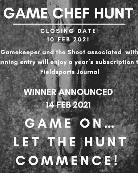 Closing date is 10th February, so get those photos in! Credit: British Game Alliance (BGA)