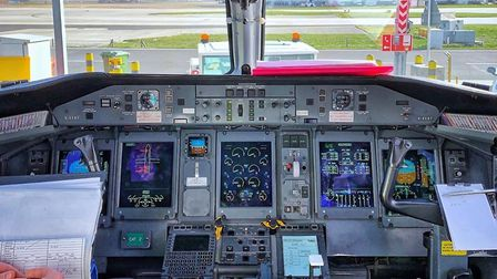 The 'office' (and best seats in the house) so many student pilots aspire to occupy