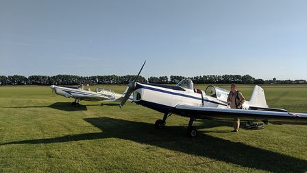 Two Zlins, but only one has a Hoffman propeller now apparently unacceptable to the CAA...