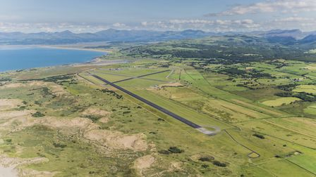 The new facilities at Llanbedr Airfield would include an improved access road
