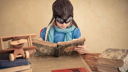 Lose yourself in these five flying books - there's something for everyone, kids and adults alike Cr