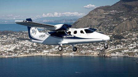 The specially-configured P2012 will allow deliveries of the Covid-19 vaccine to unpaved runways less