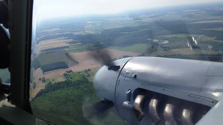 Arthur's eye view of the emotional Mosquito flight
