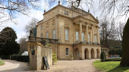 The Holburne Museum against a backdrop of blue sky