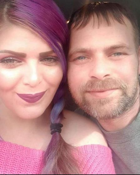 Aaron Lomax was out with his daughter when he came home to find his partner Kimberley Millis had passed away