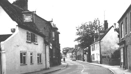 The Chequers Pub in Eynesbury which is still open.