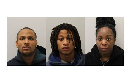 Andre Sinclair, Ashley King, 23,and Layla DaSilva, carried out a string of violent robberies