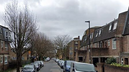 Sussex Way in Islington where the fire broke out in a flat