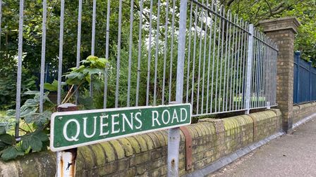 Queen's Road in Great Yarmouth.
