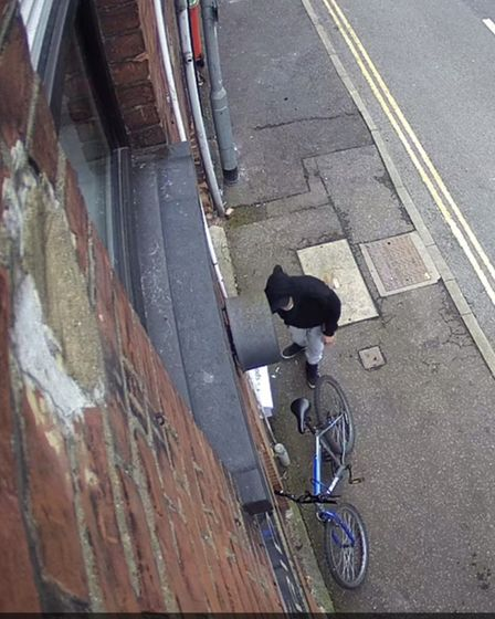 Thief takes chocolate from top restaurant in Norwich