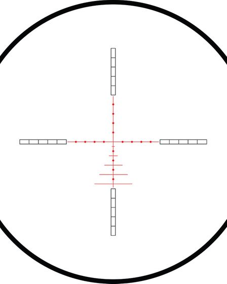 All the featured scopes have have a reticle based on the AMX design