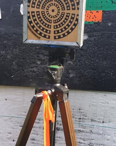A bespoke target holder is nice, but not essential