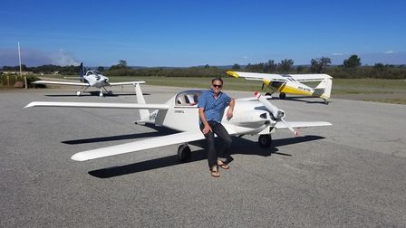 Darren Brady now lives near Serpentine airfield, where hes finishing a VW-powered composite canard V