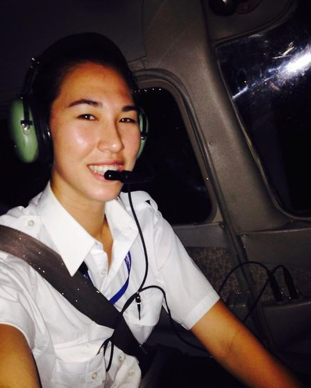 Megan Gray had the dream job of flying float-equipped Twin Otters around a sunny tropical island pa