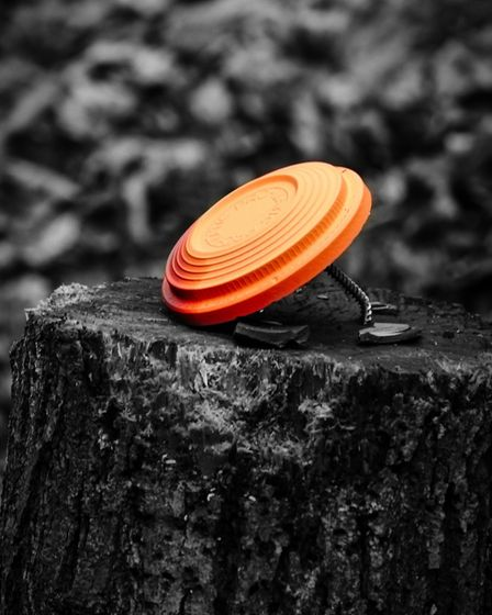 A combination of steel knockdown targets and traditional clays are the focus of all the attention