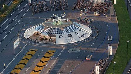 The world's first eVTOL hub will be built in Coventry. Credit: Urban Air Port