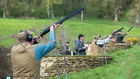 There are two options available at the Great Tew Estate, one for single guns/small groups, and a ful