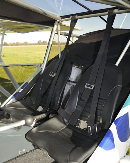 The seats are locked in place by pins and R clips, and only ground adjustable - the 600kg rules will