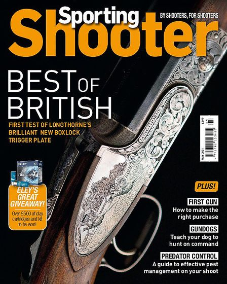 The May issue of Sporting Shooter magazine is on sale March 31st!