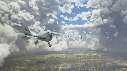 The introduction of FS2020 has substantially improved the simulation of VFR navigation. In this scre