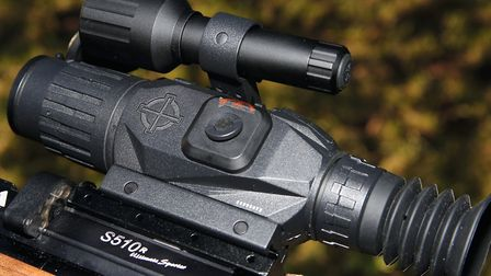 The IR illuminator is provided and simply fixes to the Wraith's accessory rail.