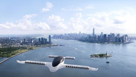 The Lilium Jet is designed to operate in large urban areas like New York and London