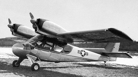 Cobbled up for the CIA and Air America, the Model 500 Twin Courier was a tricky to fly twin that wou