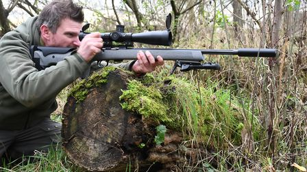 Not specifically a hunting rifle but certainly no slouch thanks to deft handling and balance