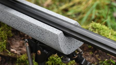 Fully free-floating barrel in all conditions within the stiff stock