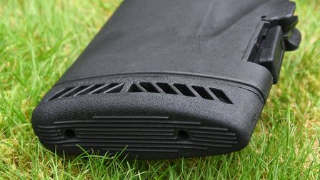 Ventilated pad with radiused edged for snag free handling