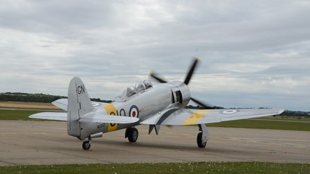 Invincible taxies out for what proved to be its last flight