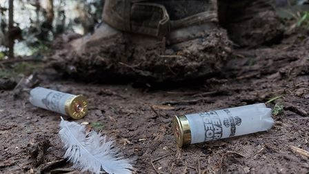 Andy still relies on his trusty Gamebore Clear Pigeon for the crows