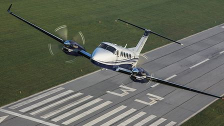 The King Air is the most popular twin-turboprop model in Australia, with nearly two hundred flying i