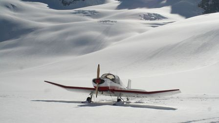 The Glacier de Talèfre is like a 1,000m runway in the heart of the Mont Blanc Massif. But it's a 'ru