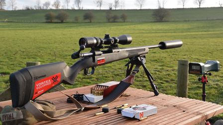 Savage 110 Apex Hunter XP in 223, an assured entry level rifle and scope package
