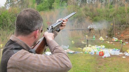 A .500 BPE in action. fast handling, powerful, flat trajectory and long point-blank range. Ideal for