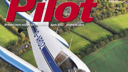 April issue of Pilot magazine - on sale 31st March