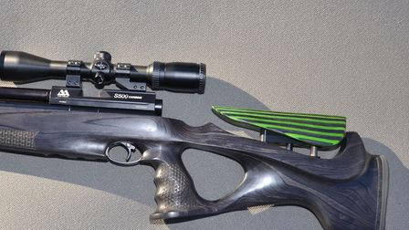 The test stock came specified to fit Air Arms S400/500 model derivatives