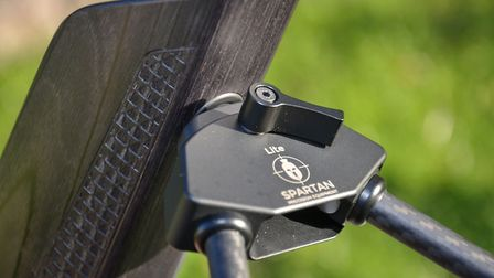 A Spartan bipod snaps straight in via a strong magnet