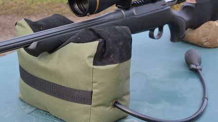 Made from tough Cordura fabric with a sueded surface for the rifle