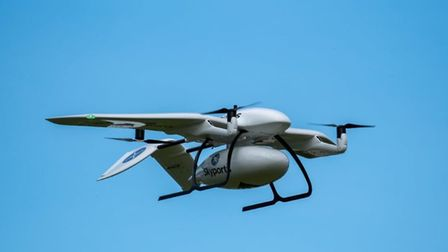 Carrying 3kg cargo loads of Covid samples, Skyports' drones are due to start beyond-line-of-sight op