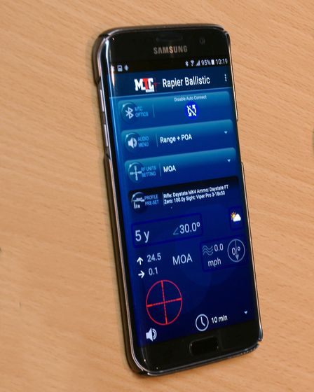 These days, there are apps than can help with airgun ballistics,
