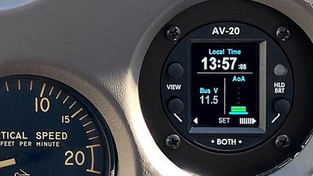 The AV-20-Smulti-function display can display a range of in-flight information Credit: UAVIONIX